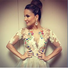 O Look de Claudia Leitte na Final do Programa The Voice Brasil | Woman Chic