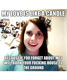 Overly Attached Girlfriend Meme Creator Laina Morris | There's no clear-cut career path for people who stumble upon internet fame. See how Laina Morris of Overly Attached Girlfriend got through it. #refinery29 http://www.refinery29.com/2016/06/112685/laina-morris-overly-attached-girlfriend-meme