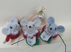 ratoncitos fieltro