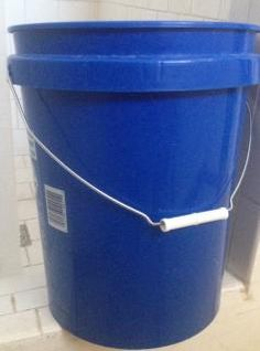 The Humble Homesteader: The Blue Bucket Project, a small water conservation tip.
