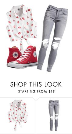 """Outfit"" by princessbeauty404 ❤ liked on Polyvore featuring AMIRI and Converse"