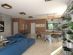 Projekt domu KA23 144,26 m2 - koszt budowy - EXTRADOM Modern Bungalow House, Modern House Design, Residential Building Plan, House Outside Design, Facade House, House Layouts, Home Projects, My House, House Plans
