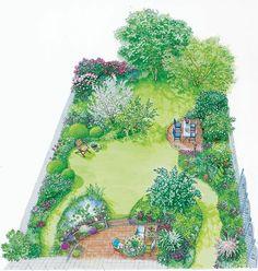 Backyard Garden Design Layout Over 65 Fashion Ideas Cottage Garden Design, Garden Design Plans, Backyard Garden Design, Garden Landscape Design, Backyard Landscaping, Landscaping Ideas, Landscaping Company, Yard Design, Backyard Ideas