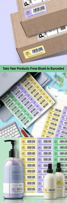 Take your products from blank to barcoded and ready to sell! Avery offers a wide range of labels to use for your business. The label featured above is durable white film material and measures x Business Notes, Craft Business, Business Help, Label Templates, Templates Printable Free, Home File Organization, Ecommerce Packaging, Earn Money Online Fast, Film Material