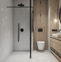 Bathroom decor for your bathroom renovation. Learn master bathroom organization, master bathroom decor suggestions, bathroom tile ideas, bathroom paint colors, and more. Bathroom Layout, Modern Bathroom Design, Bathroom Interior Design, Bathroom Storage, Bathroom Ideas, Bathroom Organization, Bath Ideas, Bath Design, Modern Bathrooms
