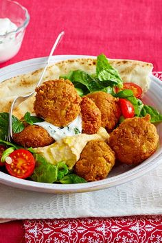 Falafel selber machen – das beste Rezept just always taste! In addition a delicious salad and a dip – finished is the oriental classic! Easy Baked Chicken, Baked Chicken Breast, Chicken Breasts, Veggie Recipes, Vegetarian Recipes, Healthy Recipes, Delicious Recipes, Vegan Appetizers, Appetizer Recipes