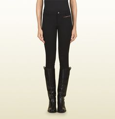 Gucci black riding pant from equestrian collection