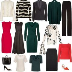 How to Create an Executive Capsule Wardrobe- Perfect for the working woman! Click for details or pin for later!