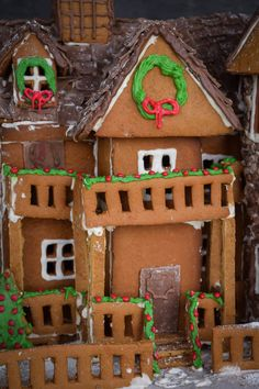 I sincerely hope that you are all in a very festive mood today because I know I am. Cue the Christmas music, draw the curtains, and enter: Gingerbread House! I may technically be an adult now but I am still a little kid at heart, big time. especially when it comes to... #christmas #cookies #dessert