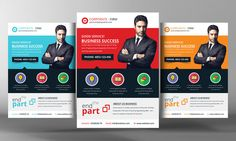 Business And Finance Corporate Flyer by Business Templates on ...
