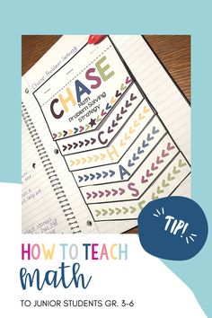 How to teach Math to junior students, grade 3-6. Inquiry Based Learning, Teaching Math, Math Strategies, Number Sense, Grade 3, Problem Solving, Students, Teacher, Classroom