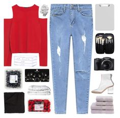 """""""WE STILL BELIEVE"""" by dreams-of-pxrxdise ❤ liked on Polyvore featuring Zara, Sparco, Maison Margiela, Christy, Morphe, Topshop, Morgan Collection, Brinkhaus and xoxotopsetsbyblue"""