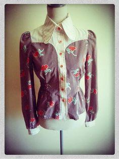 Vintage Western Shirt by telafiera on Etsy, $34.00