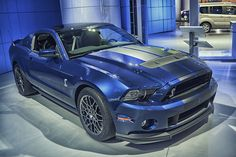 Ford Mustang Shelby GT500 Angle 2, via Flickr. #detroitautoshow #naias