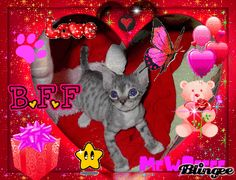 BFF MeWsEEE  Created by Joyousjoym Blessings  on my Nutter One Site.
