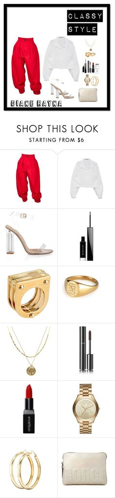 """Classy Style #44"" by dianerayna ❤ liked on Polyvore featuring Yves Saint Laurent, Inca, Givenchy, Marc by Marc Jacobs, Stella & Dot, Juicy Couture, Chanel, Smashbox, Michael Kors and Charlotte Russe"