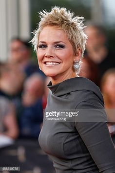 ... Inka Bause attends the red carpet of the Deutscher Fernsehpreis 2014 on October 02 2014 in ...