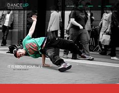 """Check out new work on my @Behance portfolio: """"DanceUp Landing page"""" http://be.net/gallery/47194891/DanceUp-Landing-page"""