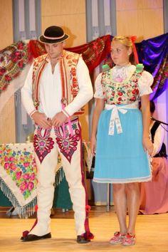 Lendak village, Spiš region, Eastern Slovakia. Folk Costume, Costumes, Heart Of Europe, World Cultures, Amazing People, Ethnic Fashion, Traditional Dresses, Dress Skirt, Campaign