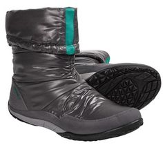 Merrell Barefoot Life Frost Glove Winter Boots - Waterproof, Insulated (For Women) in Charcoal