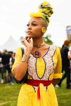Afropunk Beauty Looks - Festival Hair Styles