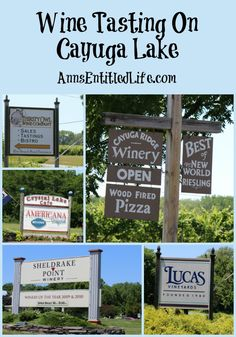 Our Wine Tasting On Cayuga Lake experience! Cayuga Lake is one of the Finger Lakes  west-central section of New York State. The Finger Lakes Wine Country is home to almost 100 wineries, breweries and distilleries centered around Keuka, Seneca, and Cayuga lakes.  http://www.annsentitledlife.com/newyork/wine-tasting-on-cayuga-lake/