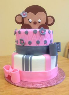 Monkey Cake From Saras Sweets Bakery Grand Rapids MI