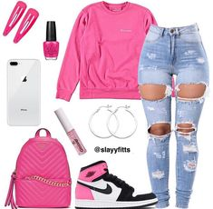 You are in the right place about swag outfits winter Here we offer you the most beautiful pictures a Nike Outfits, Swag Outfits For Girls, Cute Swag Outfits, Teenage Girl Outfits, Cute Outfits For School, Cute Comfy Outfits, Teen Fashion Outfits, Trendy Outfits, Outfits With Jordans