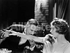 Silent Film Still: Couples Movies Photographic Print - 61 x 46 cm