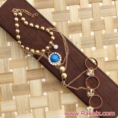 Beautiful Bracelet For Bhabhi Send Rakhi To India, Buy Rakhi Online, Rakhi Design, Creative Things, Online Gifts, Beaded Bracelets, Unique, Beautiful, Jewelry