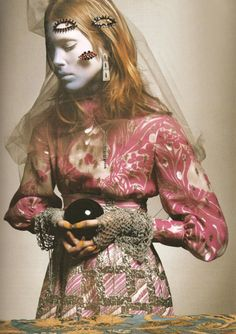 "Vogue Italia March 2005. ""Great Exaggerations"" Photographer: Richard Burbridge Stylist: Joanne Blades"