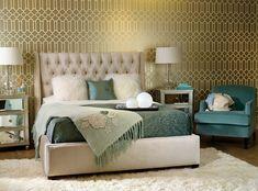 metal interiors wallpaper 10 Hot Trends To Bring Metallic Influences To Your Interiors