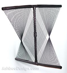 String Art Sculpture from PVC by Marji Roy of AshbeeDesign.com