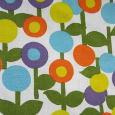 Vintage fabric - I had a as bedding when I was a child