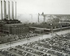 Ford Motor Company - Rouge Plant.