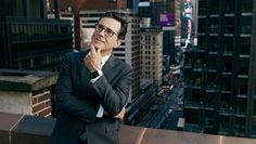 """The CBS host on his start in comedy, how Bill O'Reilly inspired his 'Colbert Report' character, David Letterman's gracious handoff of 'The Late Show' and its comeback from a year-one fizzle: """"I've allowed myself to become a pure performer."""" Just under two years ago, Stephen Colbert debuted as... #Caps #Colbert #Comeback #Emmys #Hosting #Jokes #QA #Stephen #Wanted #Year"""