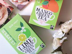 Clipper Green Tea: Kick - Start & Sunkissed