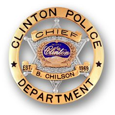 Clinton-Police-Badge