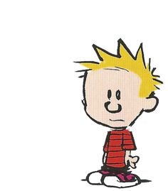 Todo mundo ama o Calvin (e todo mundo ama GIF