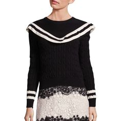 Low Price Fee Shipping For Sale Valentino ruffled jumper Release Dates Sale Online Free Shipping Find Great IDPHZBbl