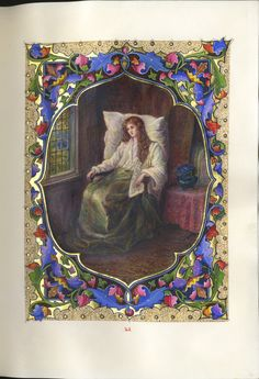 The May Queen by Alfred Lord Tennyson | designed and illuminated by Alberto Sangorski, 1912