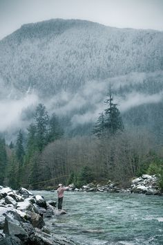 man-and-camera:  Fly Fishing off the Coquihalla Hwy ➾ Luke Gram