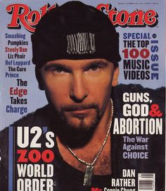 The Edge of U2 on Rolling Stone.
