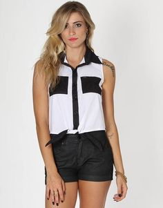 Camisa Hurley Wilson Tie Tank. Kanui Girls 7468d2c153e04