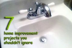 7 Home Improvement Projects You Shouldn't Ignore! #california-credit-unions #vacaville banks #home equity loans