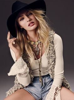 73b7366f1e145 Candice Swanepoel -Free People Collection (July - Posted on July 2014