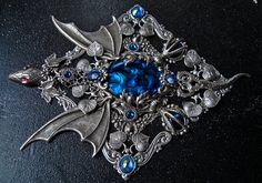 Dragon Jewellery Box Medieval Fantasy Jewels Case от AMonSeulDesir