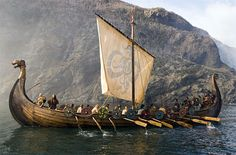 Vikings: #Viking long ship.