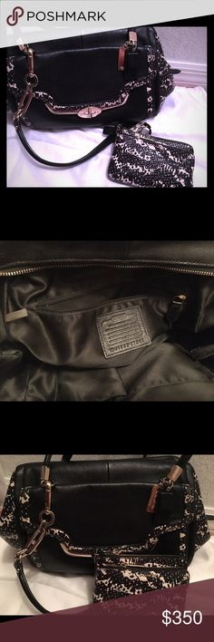 Authentic coach purse and wallet Limited edition Coach Bags