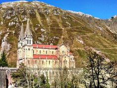 Magical Our Lady of Covadonga in Spain. (c) GTH & Nathan DePetris